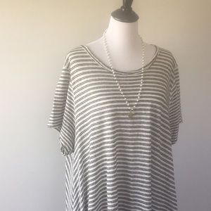 Free People Tops - Oversized High Low Free People Tunic Dress